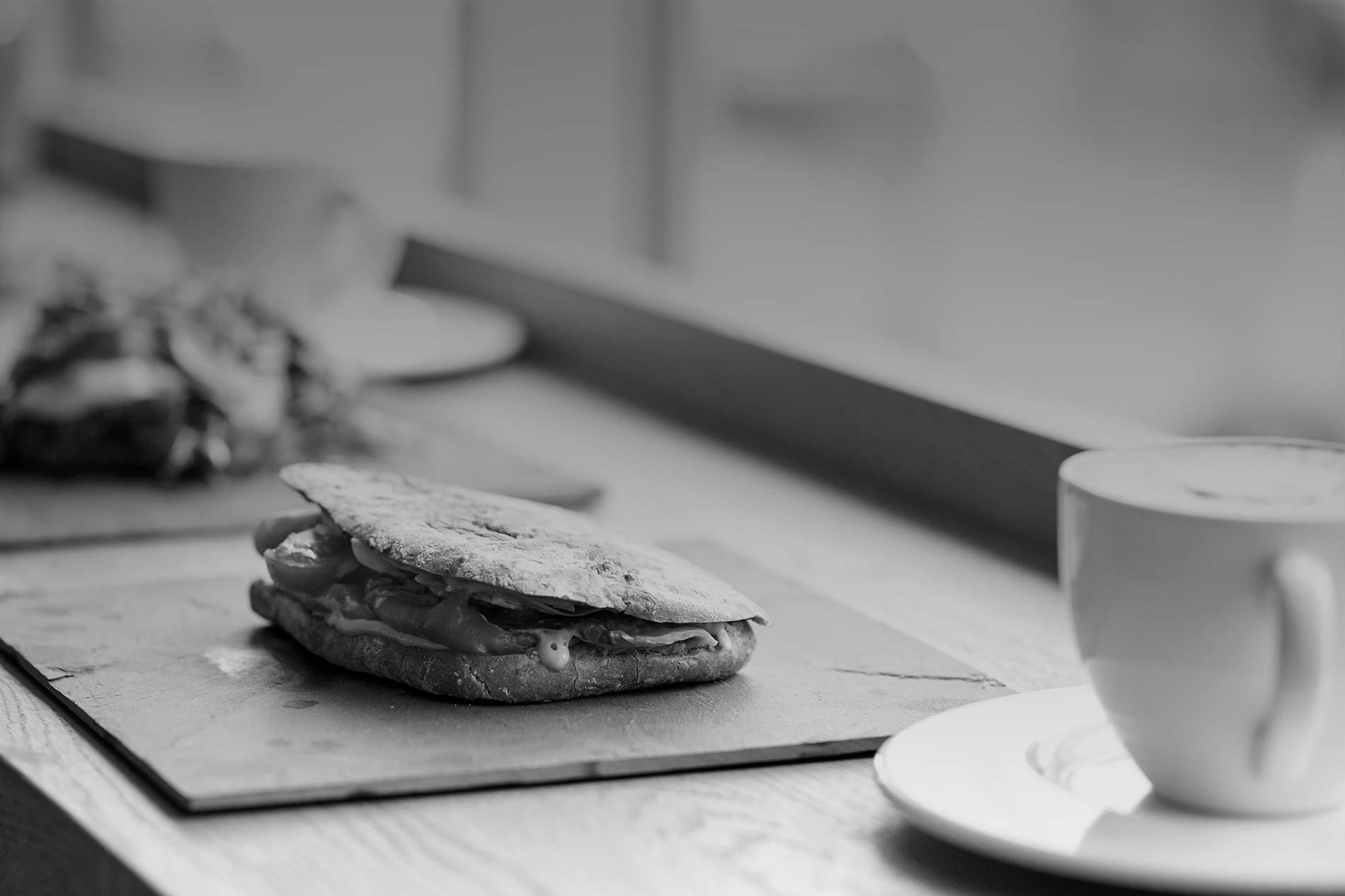 Broodje bij Café SOOF